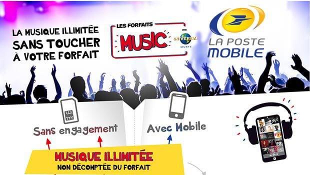La Poste Mobile, des promotions jusqu'au 28 février 2015