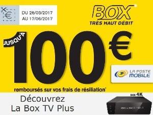 Offre Box TV Plus chez La Poste Mobile