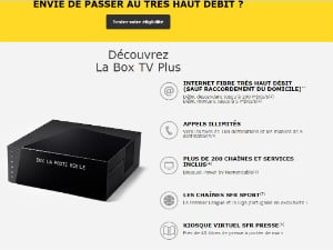 La Box TV Plus de La Poste Mobile