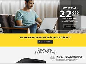 La Box Plus TV La Poste Mobile