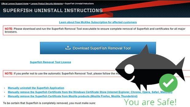 SuperFish, un adware sur des PC portables Lenovo