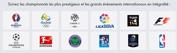 les plus grandes competitions