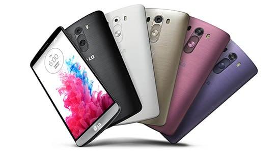 LG G3, coque et batterie amovibles