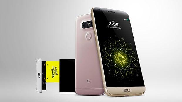LG G5 : puissant, photophone et modulaire