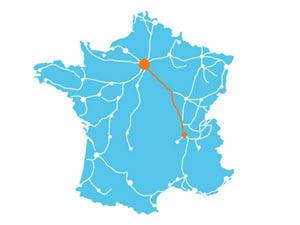 Ligne Paris-Lyon