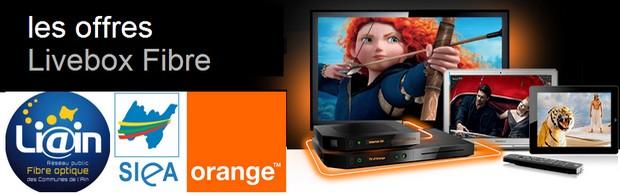 Accord Orange / SIEA sur la fibre optique dans l'Ain