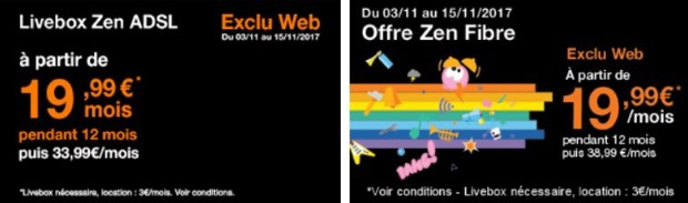 Orange : offres Internet en promotion