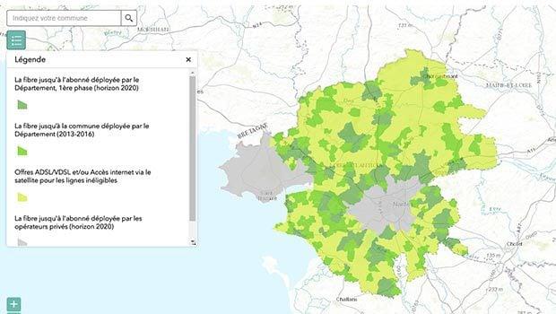 Loire Atlantique Numérique : montée en débit et projet fibre