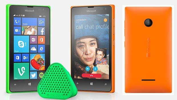 Toute une gamme d'accessoires de couleurs sont aussi proposés par Nokia/Microsoft/Lumia