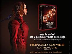 Le coffret DVD Hunger Games