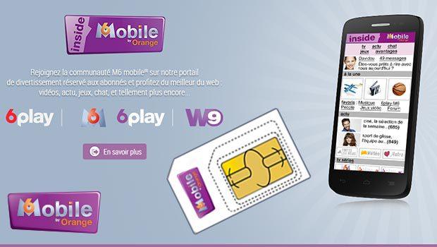 Les forfaits M6 Mobile encore actifs pour les clients actuels