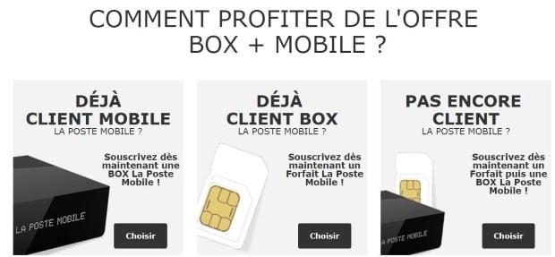 Maxi-remise box+forfait La Poste Mobile