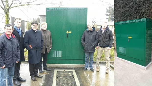 Des armoires pour apporter la fibre optique en Bretagne