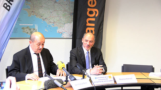 Mégalis Bretagne et Orange pour le Projet THD Bretagne