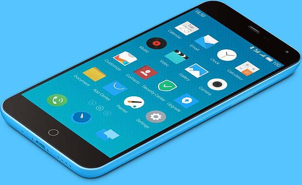 Meizu M1 note, sous Flyme, l'OS made in Meizu