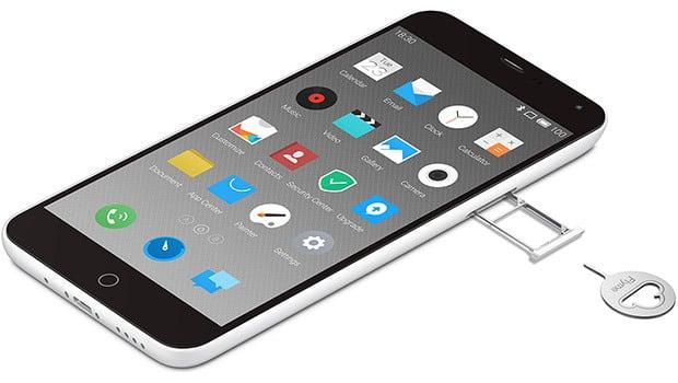 Meizu M1 Note et sa double carte-SIM