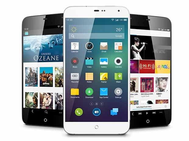 Meizu MX3 : blanc ou noir