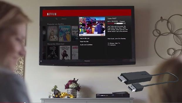 Diffusion de contenus, d'applications ou de services vidéo comme Netflix