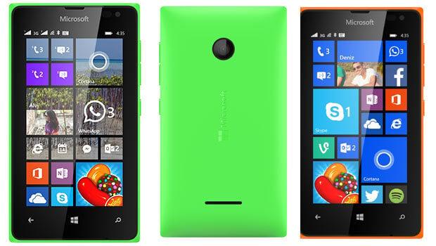 Microsoft Lumia 435 : processeur double-cœur et APN 2 mégapixels
