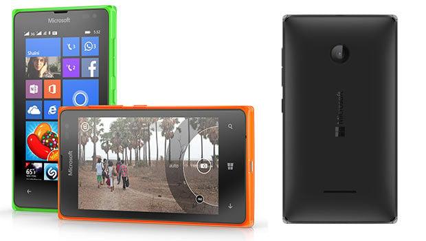 Microsoft Lumia 532 : processeur quadruple-cœur et APN dorsal 5 mégapixels