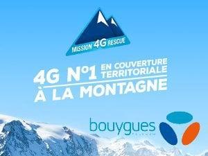 Mission 4G Rescue Bouygues Telecom 10Go gratuits