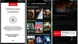 Netflix en hors connexion