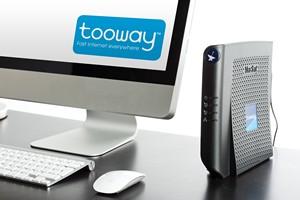 Internet par satellite avec Tooway