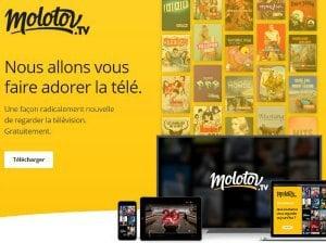 Enregistrement Tv et Chromecast avec Molotov
