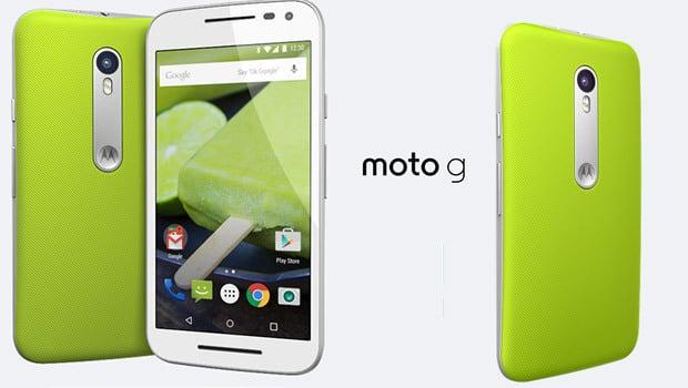 Moto G à personnaliser avec Moto Maker
