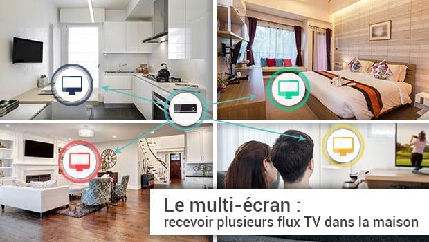 Multi TV dans la maison