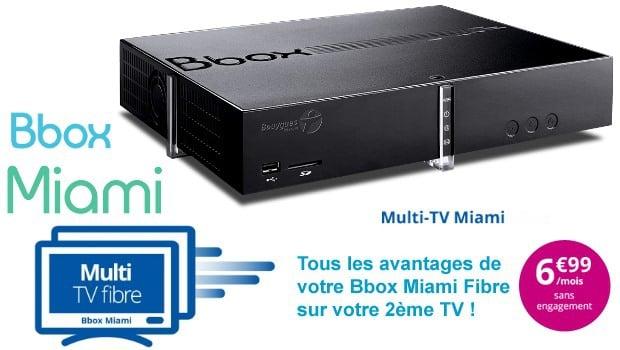 Le Multi TV en VDSL chez Bouygues Telecom à 6,99€/mois