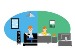 Orange: comment regarder des programmes différents sur deux télés