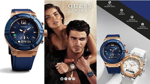 Des montres aussi chez Guess