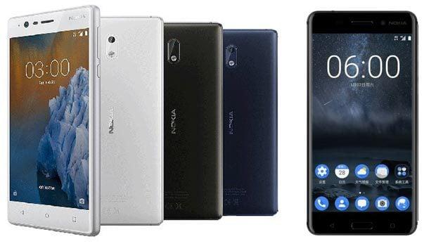 Nokia 6 et 3