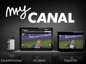 L'application myCanal pour la Freebox Revolution