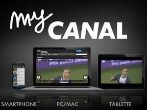 L'application myCanal pour la Freebox Revolution