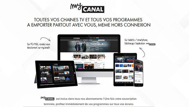 MyCANAL pour tous les abonnés à un service CANAL ou TV by CANAL