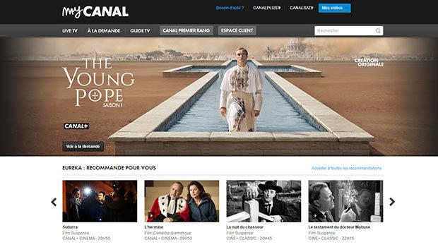Tous les services sur le portail MyCANAL.Fr