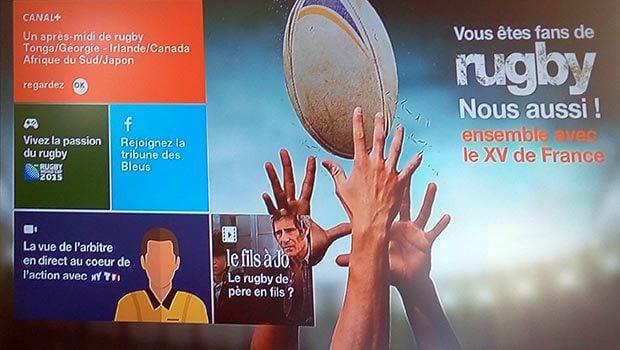 La TV Orange avec la Coupe du Monde de Rugby 2015 en star