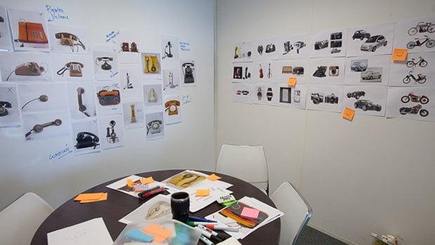 Les designers se sont 'amusés' avec des concepts inspirés par les anciens modèles