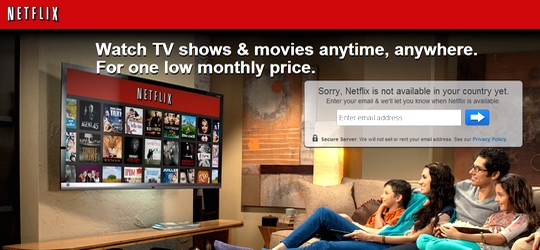 Netflix débarquera-t-il en France en 2013 ?