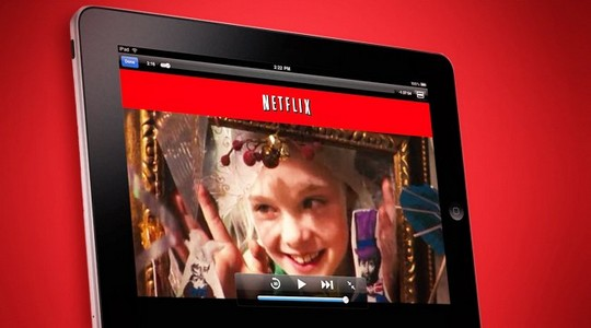 Netflix en streaming sur tablette