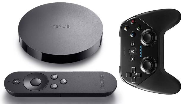 Nexus Player, avec télécommande et manette de jeu