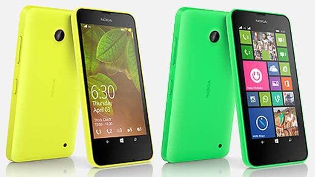 Nokia 630 : un look coloré sympathique