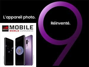 MWC2018 : Samsung Galaxy S9 et S9+