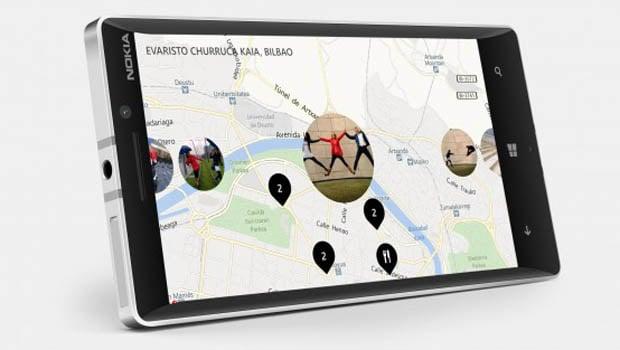 Nokia 930 : Nokia Maps reste une des applications phares de la gamme Lumia