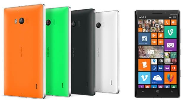 Nokia 930 : un look coloré… ou plus classique