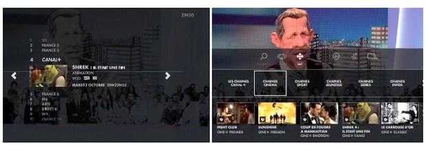 Nouvelle interface 2013 sur les décodeurs Canalsat