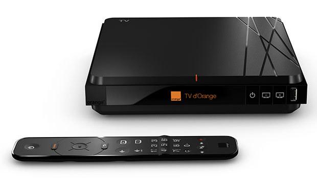 Nouvelle Livebox 4 Orange + décodeur TV 4