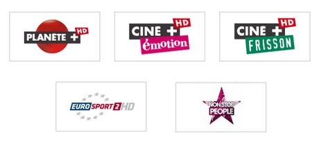 Cinq nouvelles HD rejoignent le bouquet Canalsat